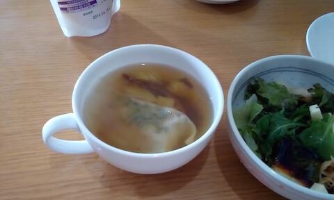 白菜餃子とさつまいもの塩スープでダイエット!