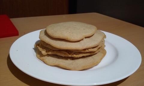 米粉と全粒粉の無添加パンケーキで健康ダイエット!