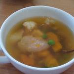 玄米餅のかぼちゃ入りお雑煮の簡単レシピ