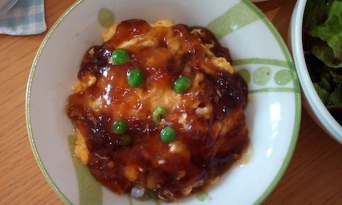 卵のへルシーあんかけ!田七人参酢でアミノ酸たっぷりで美肌ダイエット!
