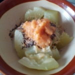 白瓜の胡麻味噌和えを作ってみました&マクワウリのこと