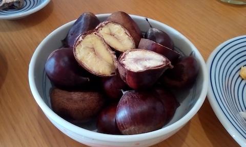 栗を圧力鍋で茹でたら美味しかった!茹で栗レシピと栗の効能効果!