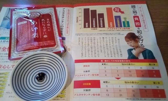アスタキサンチンサプリの「あい楽」を注文!口コミ体験レビュー
