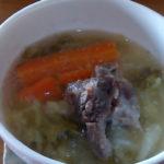 オーストラリア産牛すじ肉でスープの元とポトフのレシピ!とコラーゲン