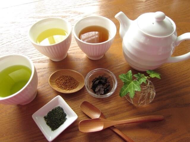 緑茶・烏龍茶・紅茶